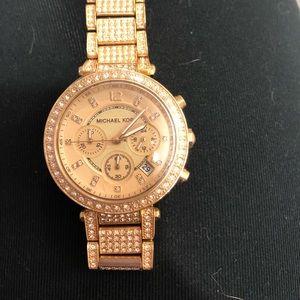 Michael Kors Watch (Rose Gold)